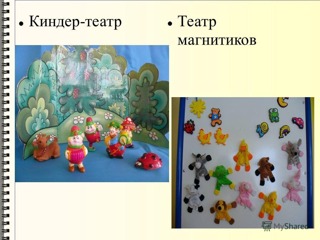 Киндер-театр Театр магнитиков