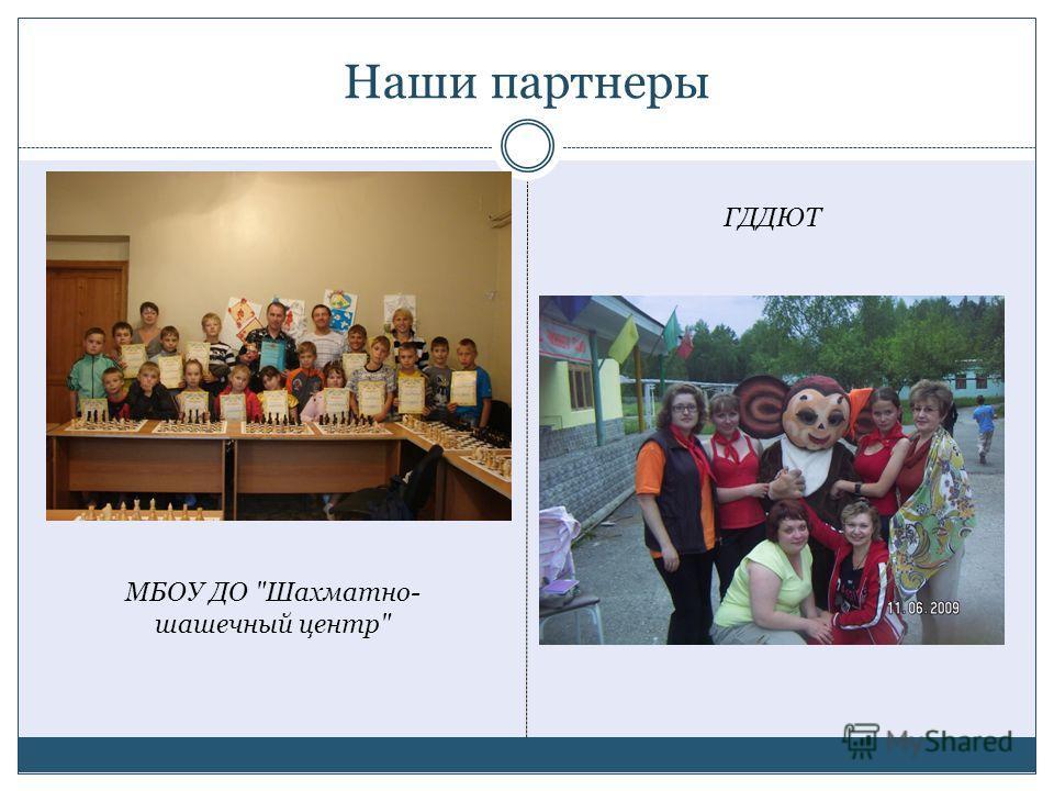 Наши партнеры МБОУ ДО Шахматно- шашечный центр ГДДЮТ