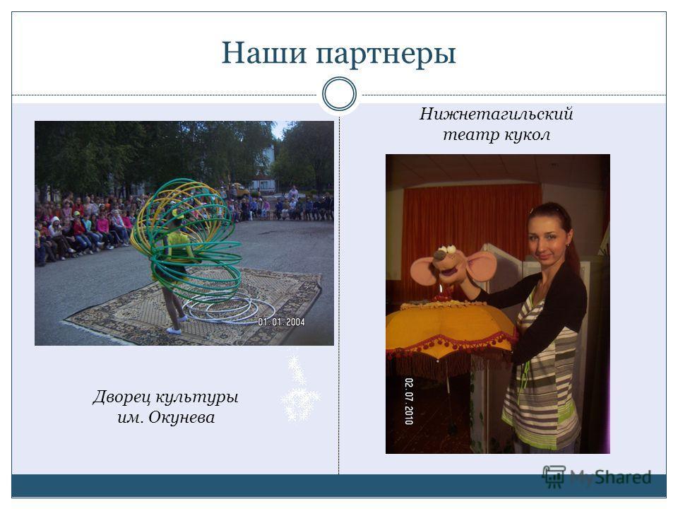 Наши партнеры Дворец культуры им. Окунева Нижнетагильский театр кукол