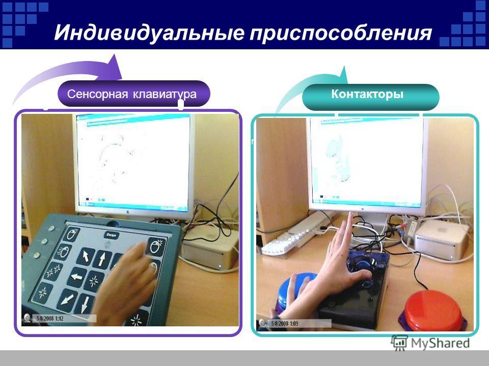 Индивидуальные приспособления Add Your Title Контакторы Сенсорная клавиатура