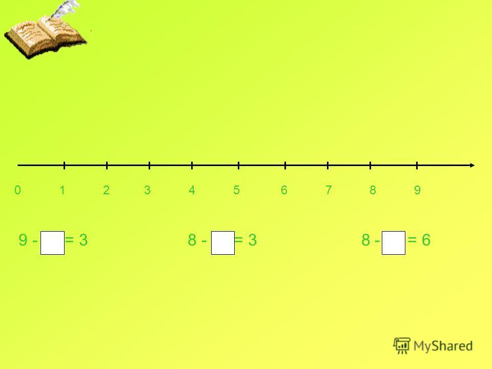 0 1 2 3 4 5 6 7 8 9 9 - = 3 8 - = 3 8 - = 6