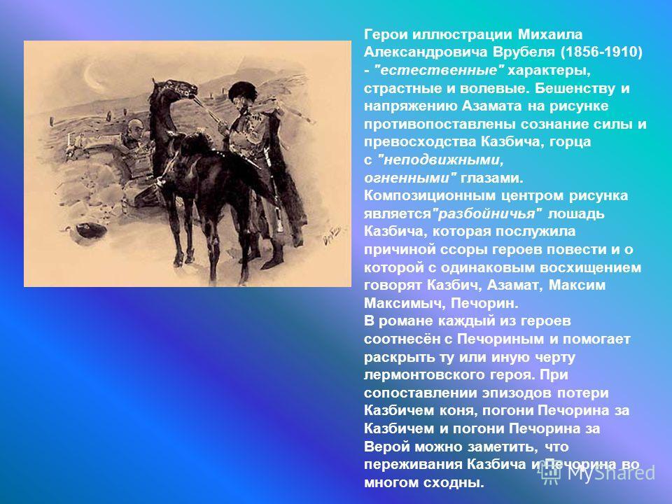 Герои иллюстрации Михаила Александровича Врубеля (1856-1910) -