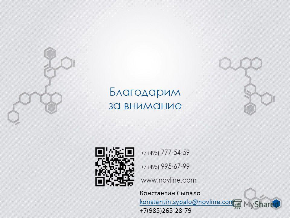 Константин Сыпало konstantin.sypalo@novline.com +7(985)265-28-79