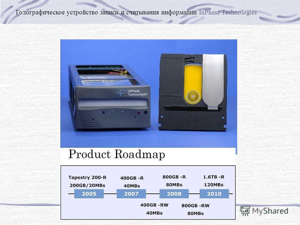 Голографическое устройство записи и считывания информации InPhase Technologies