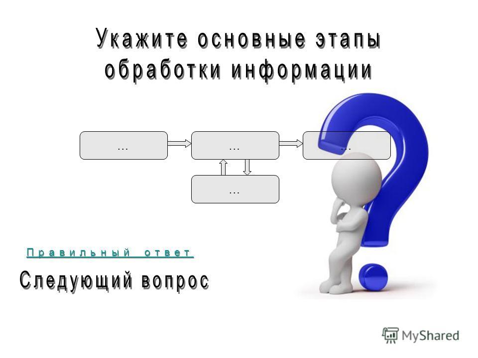 …… … … Правильный ответ Правильный ответ