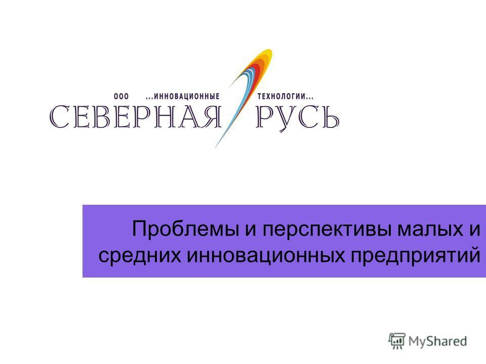 Проблемы и перспективы малых и средних инновационных предприятий