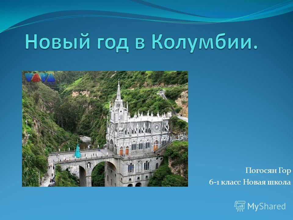 Погосян Гор 6-1 класс Новая школа