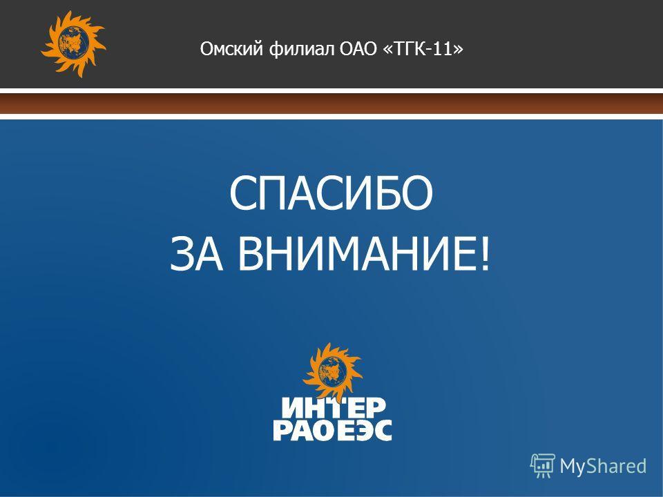www.themegallery.com СПАСИБО ЗА ВНИМАНИЕ! Омский филиал ОАО «ТГК-11»