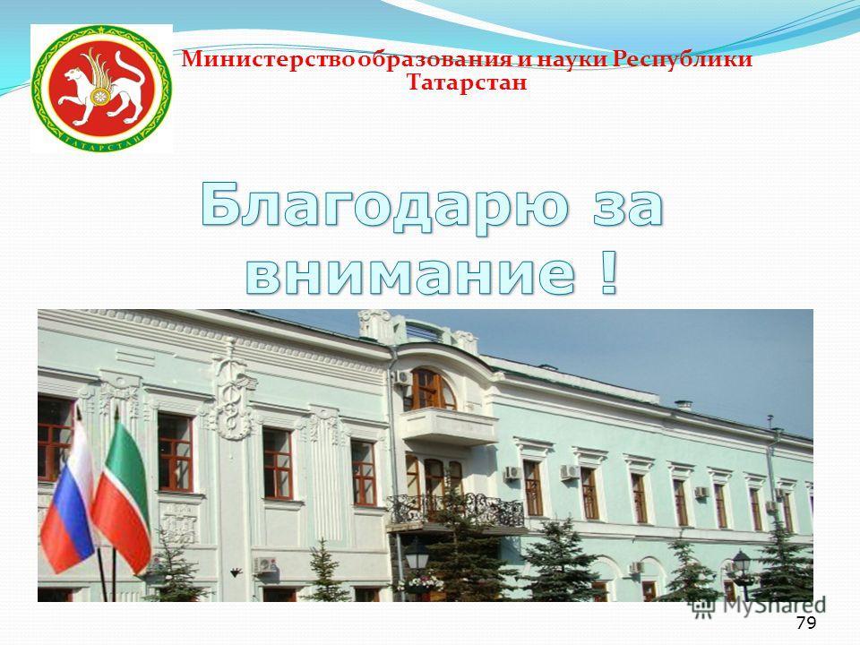79 Министерство образования и науки Республики Татарстан