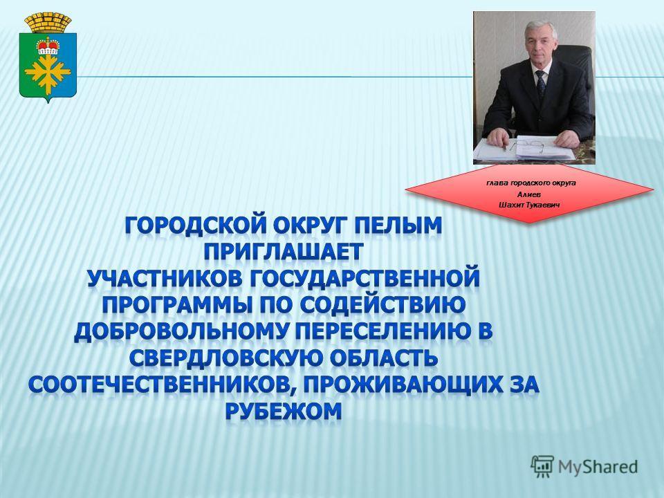 глава городского округа Алиев Шахит Тукаевич глава городского округа Алиев Шахит Тукаевич