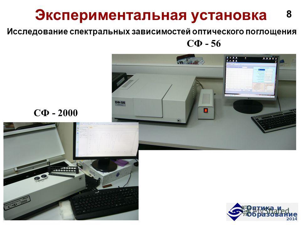 56 СФ - 2000 Исследование