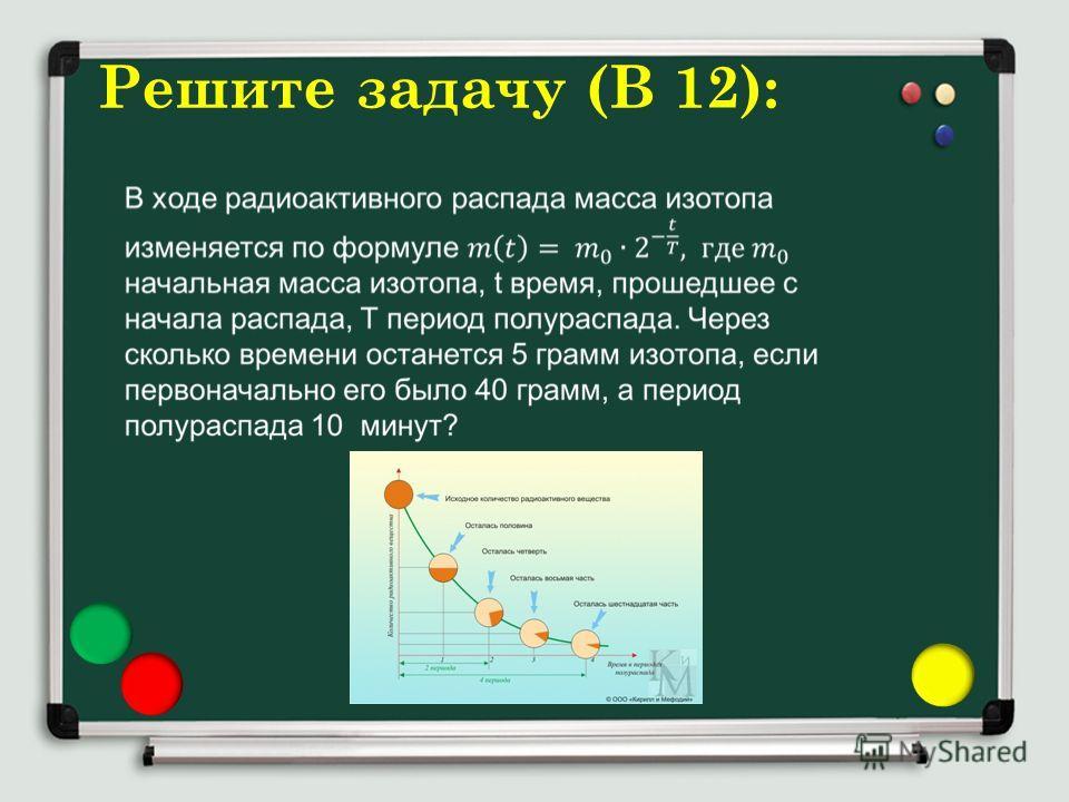 Решите задачу (В 12):
