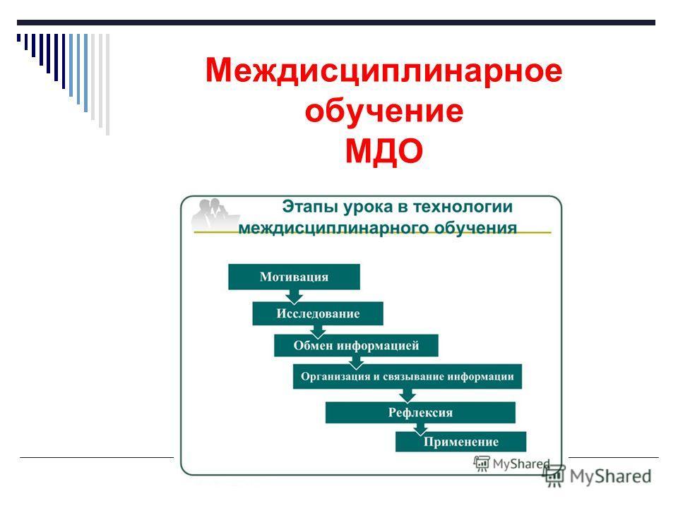 Междисциплинарное обучение МДО