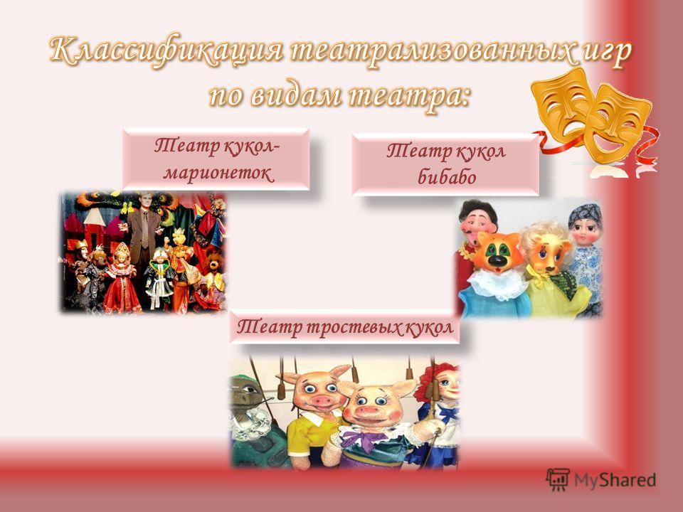 Театр кукол- марионеток Театр кукол бибабо Театр кукол бибабо Театр тростевых кукол