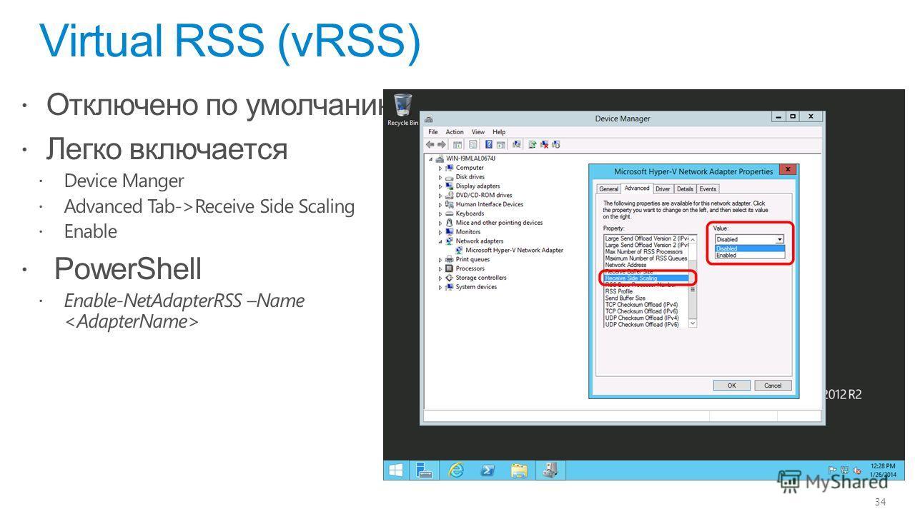 Virtual RSS (vRSS) 34