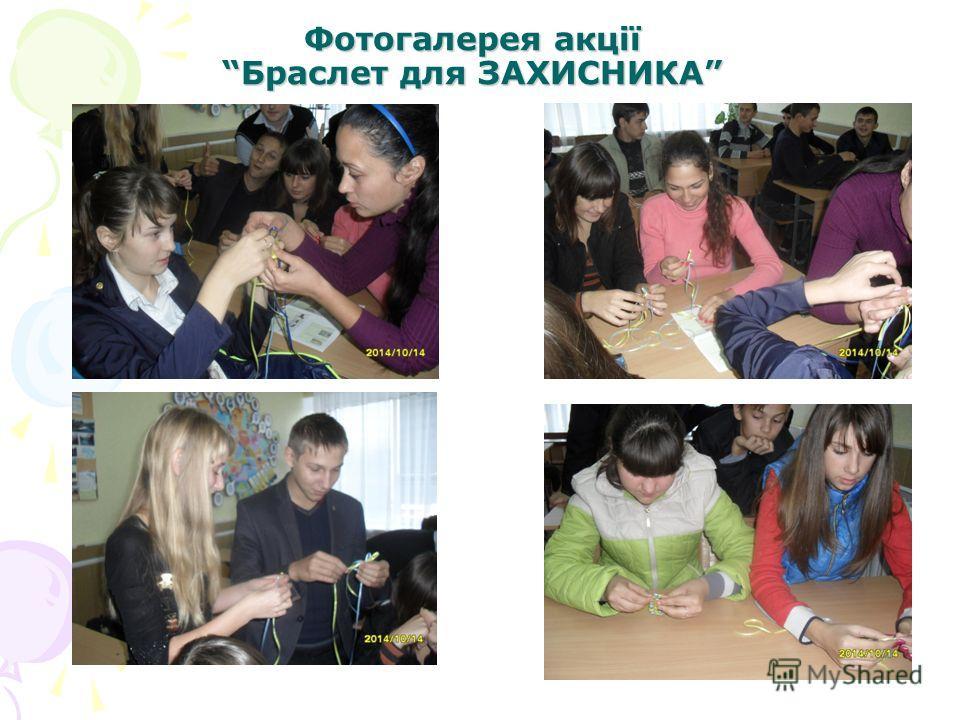 Фотогалерея акції Браслет для ЗАХИСНИКА