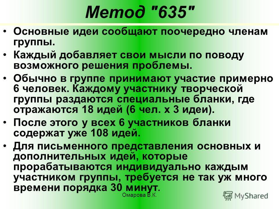 161 Метод