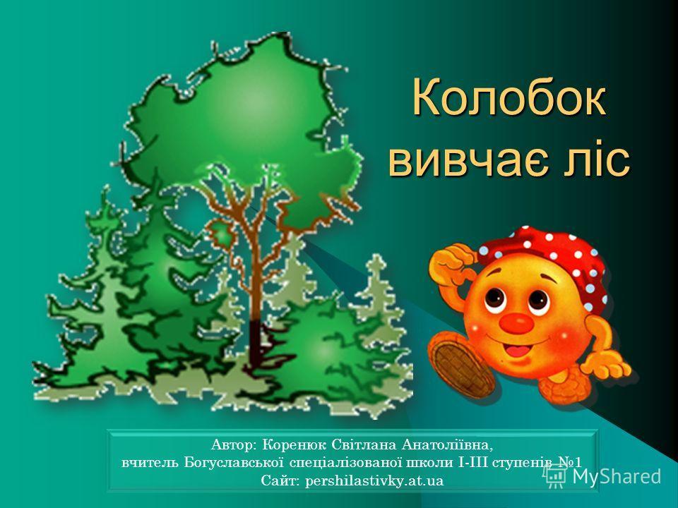 Колобок вивчає ліс Колобок вивчає ліс