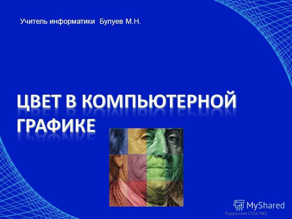 Курушская СОШ 1 Учитель информатики Булуев М.Н.