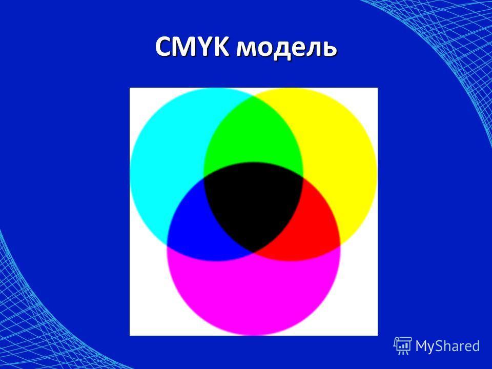 CMYK модель