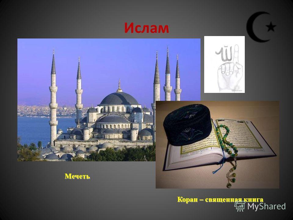 Ислам Мечеть Коран – священная книга