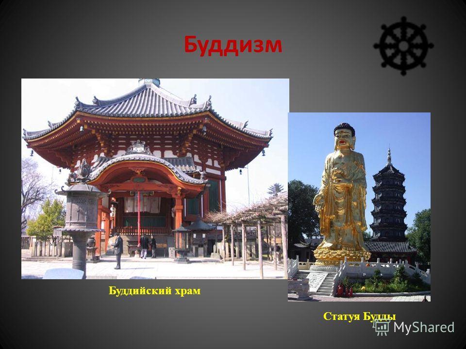 Буддизм Буддийский храм Статуя Будды