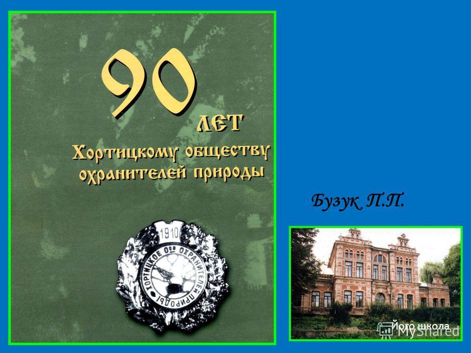 Бузук П.П. Його школа