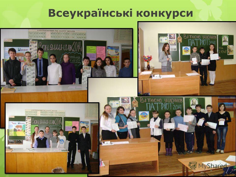 Всеукраїнські конкурси