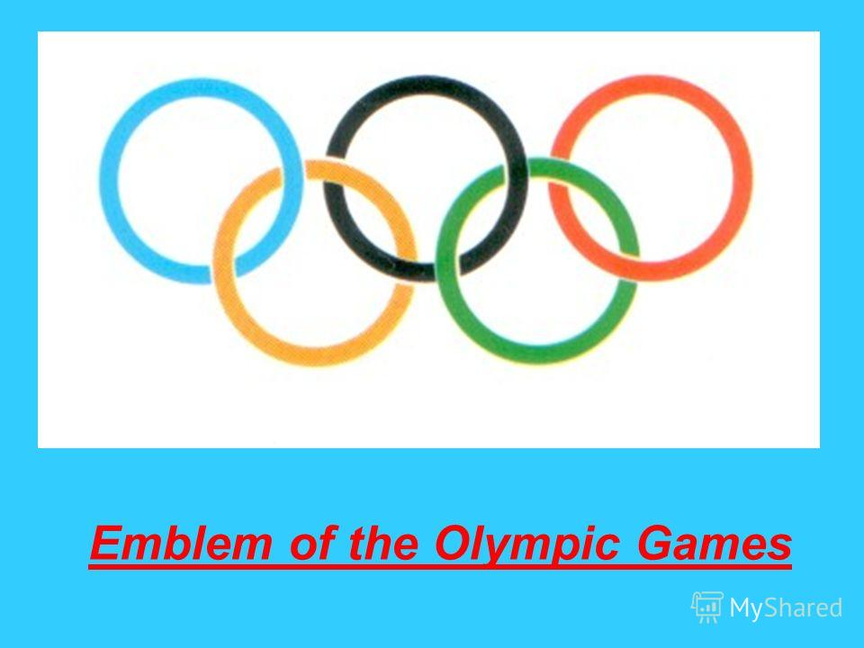 Emblem of the Olympic Games