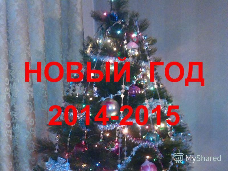 НОВЫЙ ГОД 2014-2015