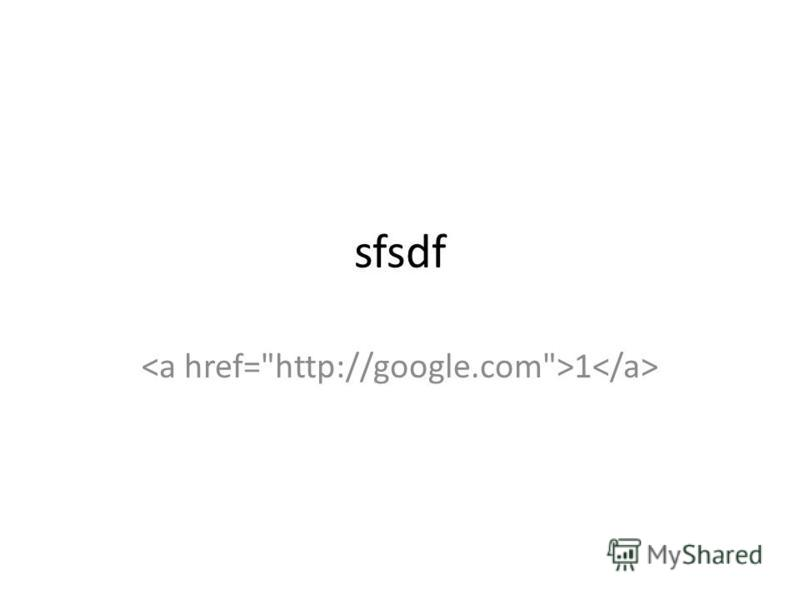 sfsdf 1