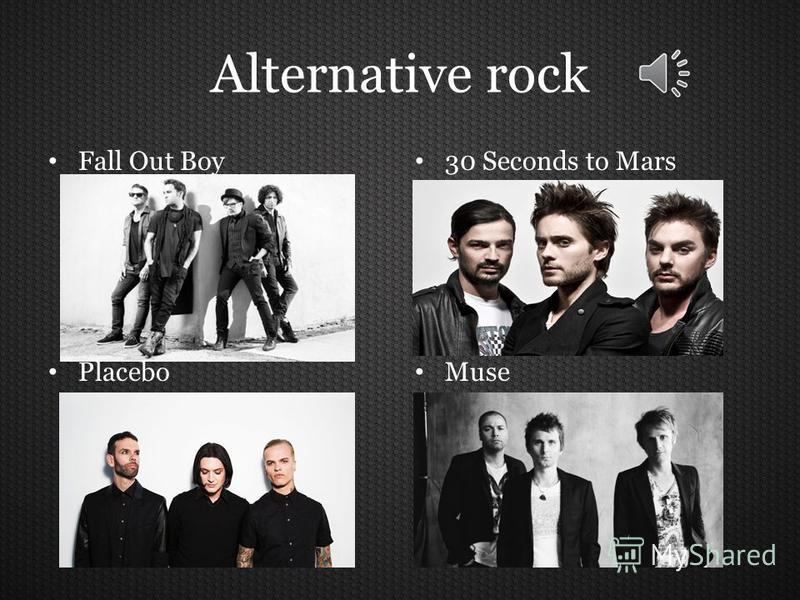 List of rock genres psychedelic rock alternative rock post-hardcore rocknroll pop rock indie rock grunge punk rock