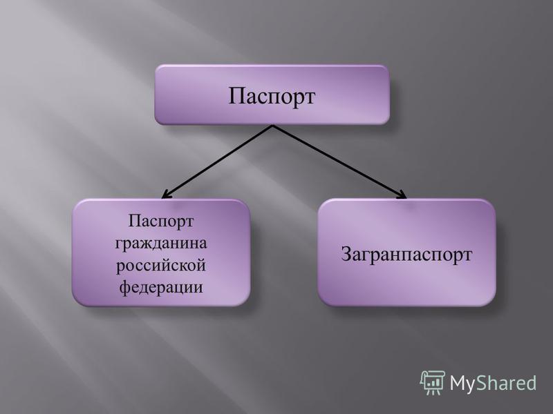 Паспорт Паспорт гражданина российской федерации Загранпаспорт