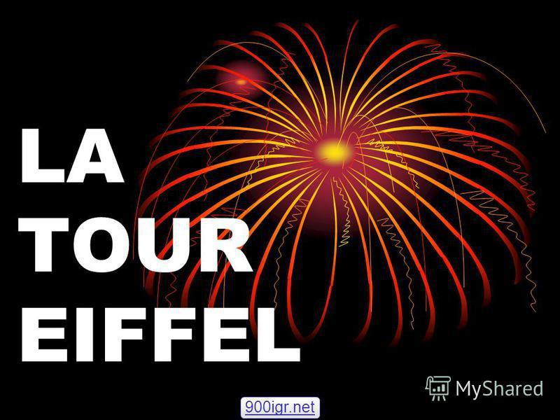 LA TOUR EIFFEL 900igr.net