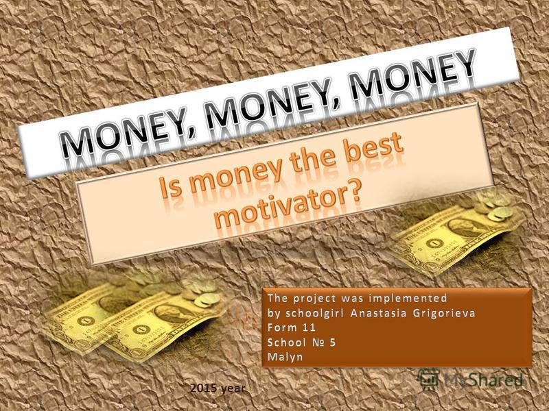 Money As A Motivator At Work Essay