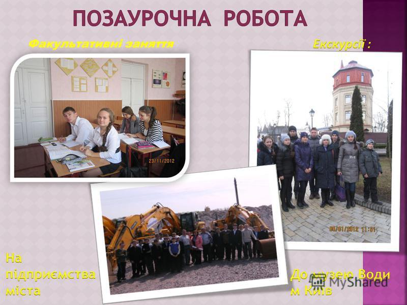 Вікторини Захист проектів Робота в группах