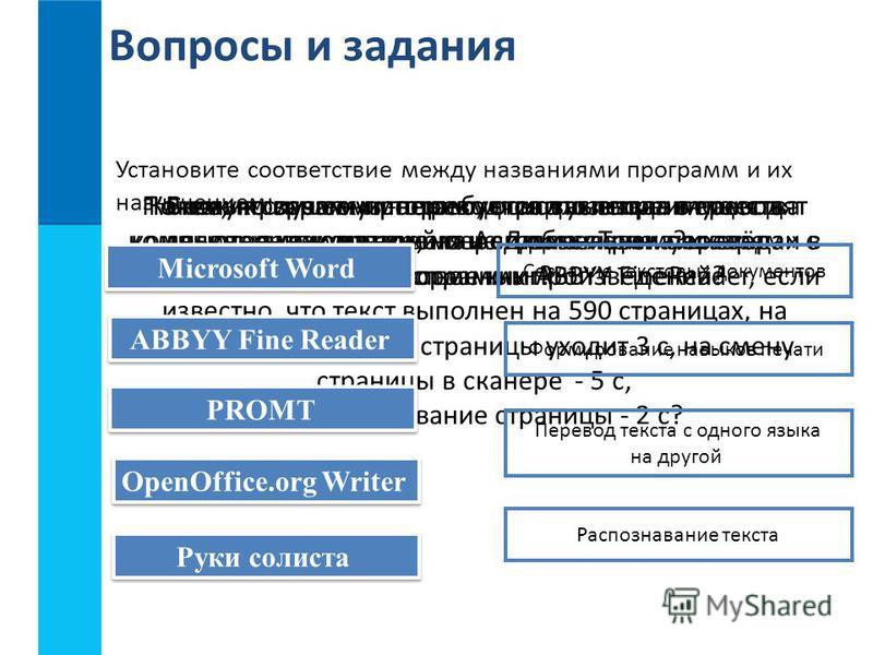 Распознавание Текста и Системы компьютерного Перевода Презентация