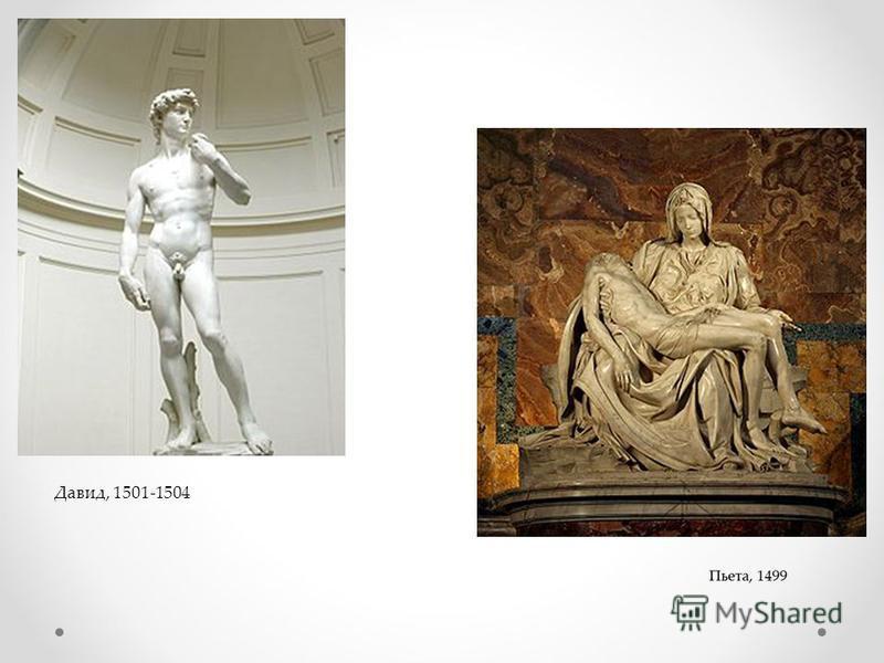 Давид, 1501-1504