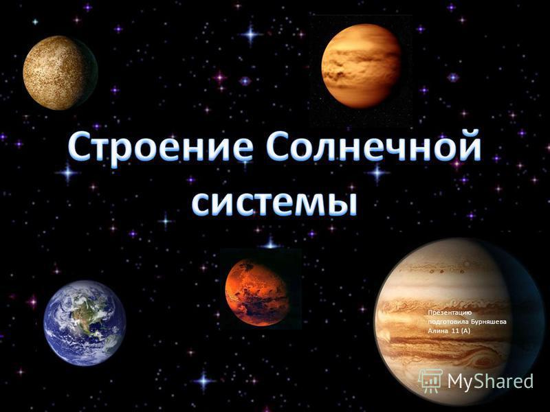 Презентацию подготовила Бурняшева Алина 11 (А)