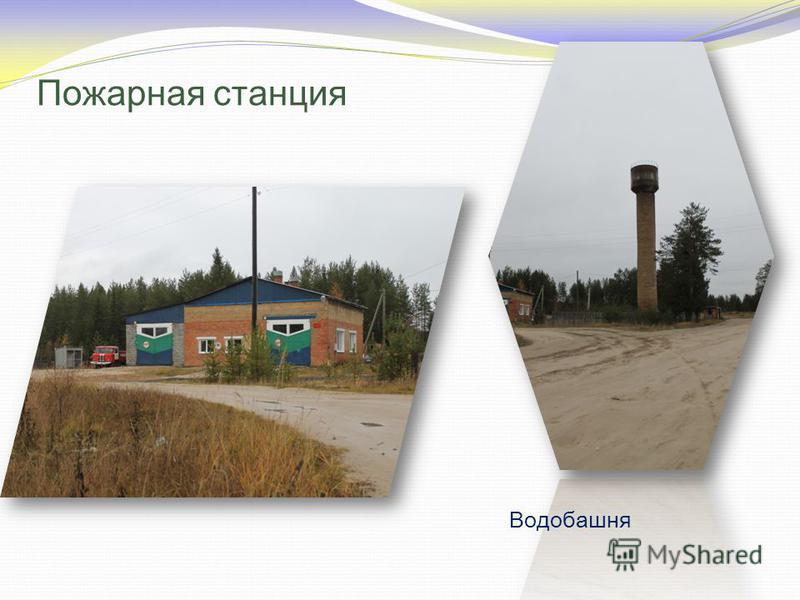 Пожарная станция Водобашня