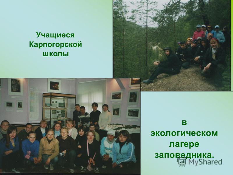 Экологическая база заповедника «Пинежский»
