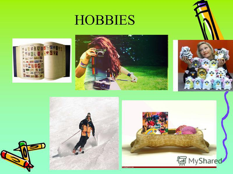 my three favorite hobbies