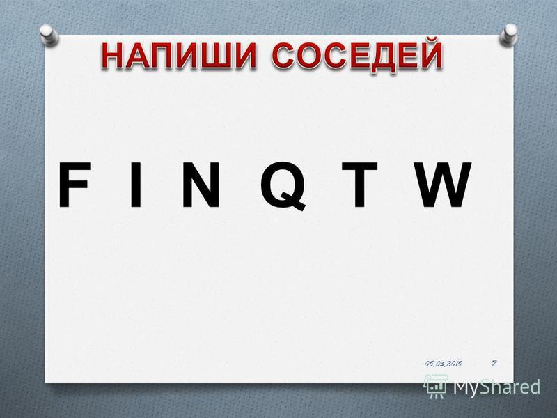 7 F I N Q T W