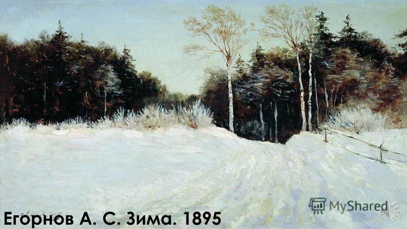 Суриков В. И. Зима в Москве. 1884-1887