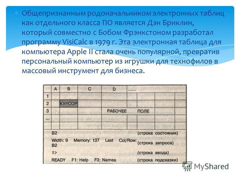Скачать конспект по информатике 9 класс основные параметры электронных таблиц calc основные типы и форматы данных
