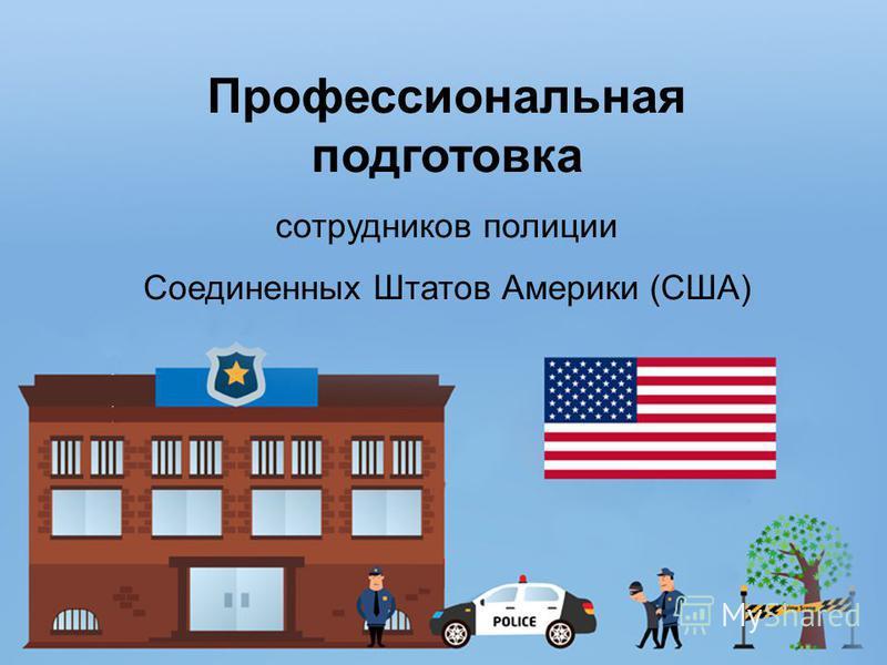 Профессиональная подготовка сотрудников полиции Соединенных Штатов Америки (США)