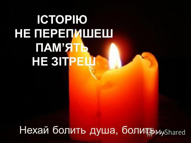Пам`яті жертв Голодомору