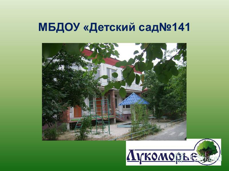 МБДОУ «Детский сад 141