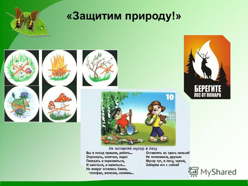 «Защитим природу!»