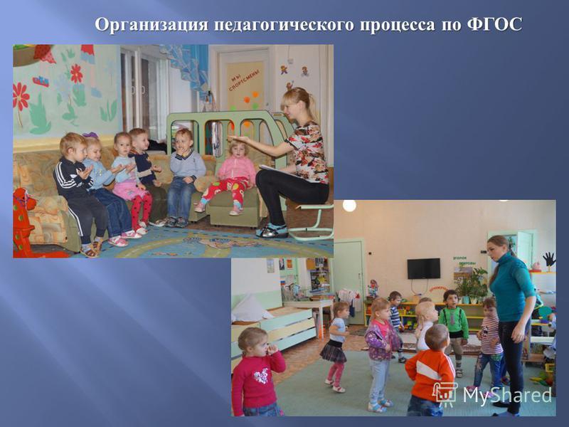Организация педагогического процесса по ФГОС